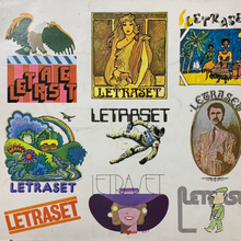 Letraset catalog cover (UK, 1975)