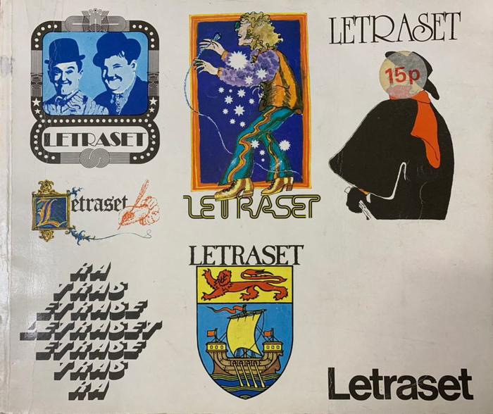 Letraset catalog cover (UK, 1975) 1
