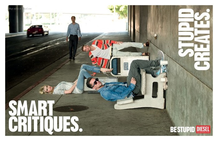 """""""Be Stupid"""" campaign by Diesel 6"""