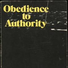 <cite>Obedience to Authority</cite> by Stanley Milgram (Harper, 1974)
