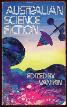 <span></span><span><cite>Australian Science Fiction</cite> by Van Ikin (ed.)</span>