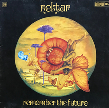 Nektar – <cite>Remember the Future</cite> album art