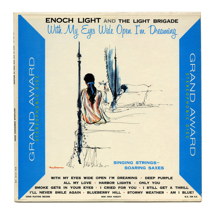 Enoch Light and the Light Brigade – With My Eyes Wide Open I'm Dreaming album art