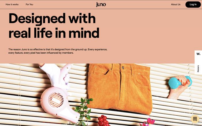 Juno website 4