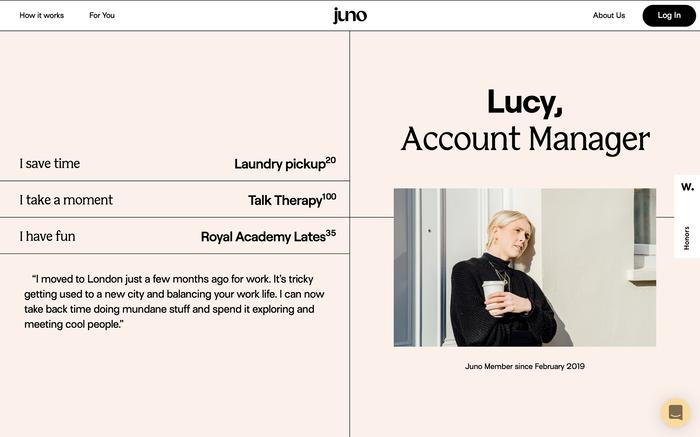 Juno website 5