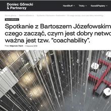 Doniec Górecki & Partnerzy website