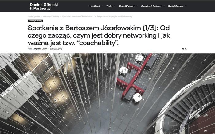 Doniec Górecki & Partnerzy website 4