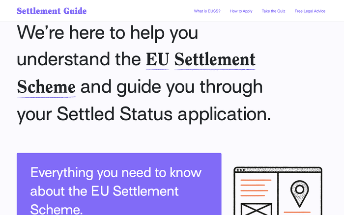 Settlement Scheme Guide for Young People 1