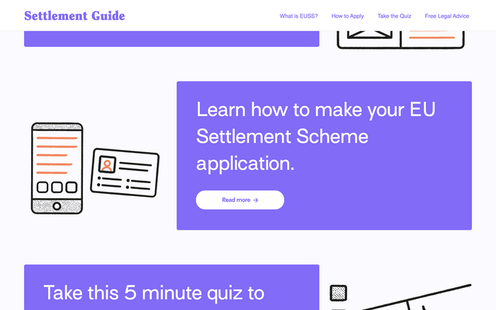 Settlement Scheme Guide for Young People 2