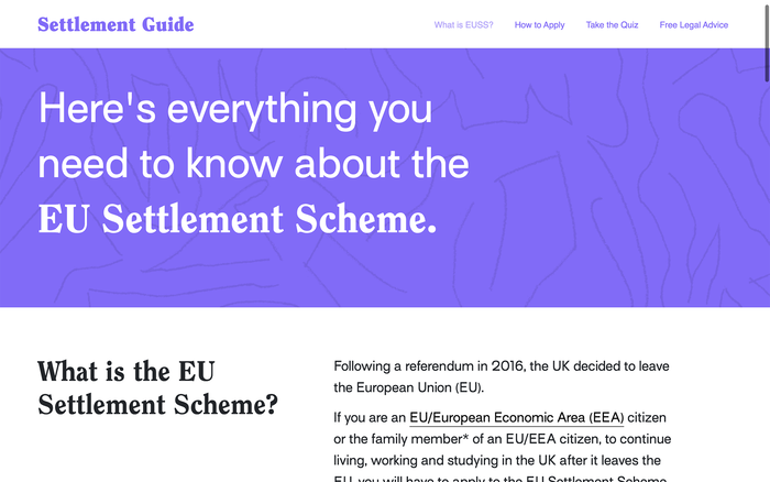 Settlement Scheme Guide for Young People 3
