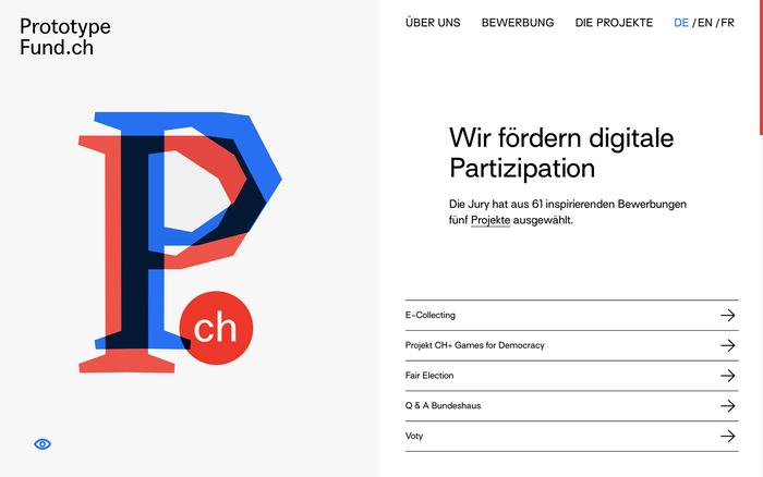 Prototype Fund website 1