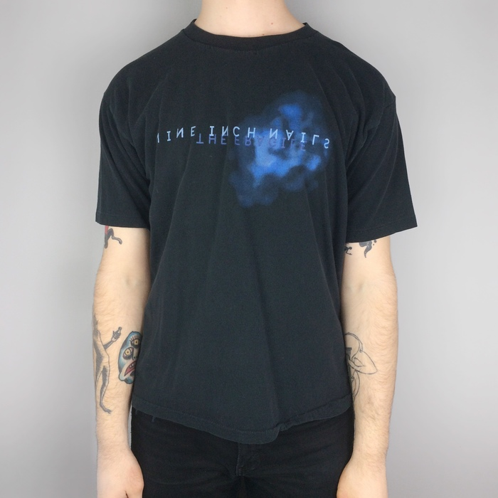 """Nine Inch Nails """"The Fragile"""" T-shirts 5"""