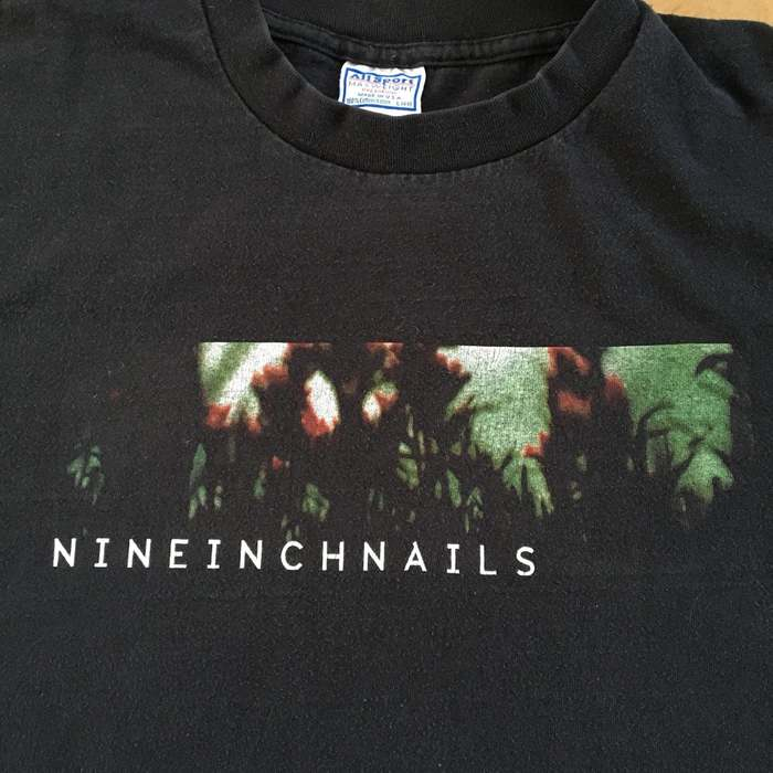 """Nine Inch Nails """"The Fragile"""" T-shirts 1"""