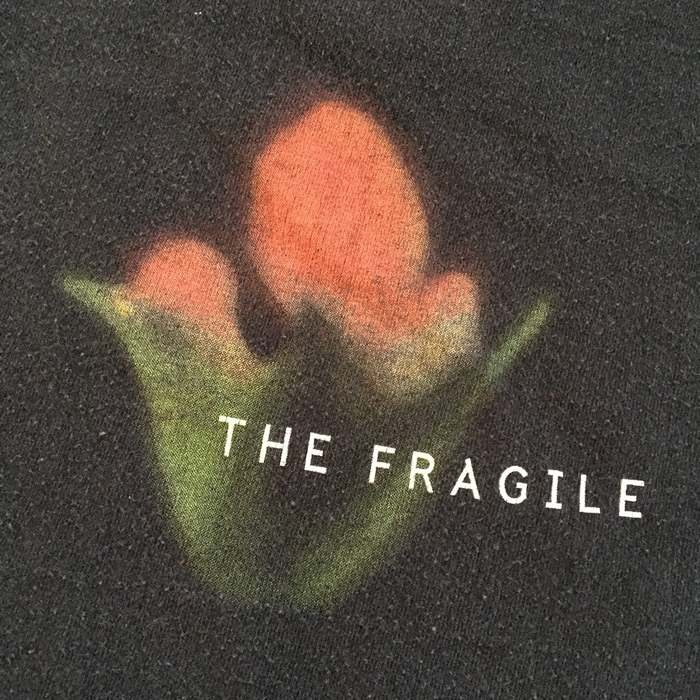 """Nine Inch Nails """"The Fragile"""" T-shirts 2"""
