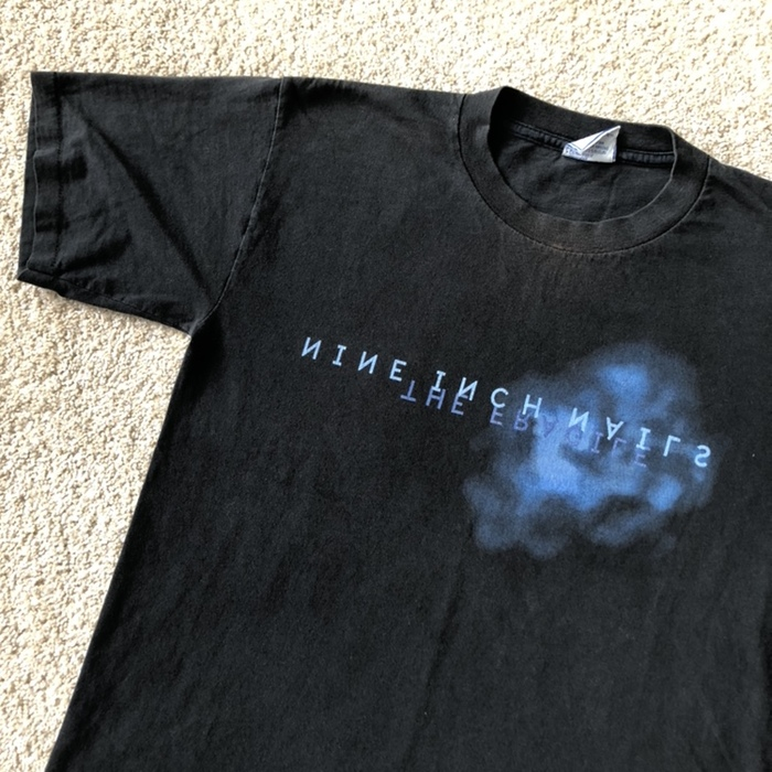 """Nine Inch Nails """"The Fragile"""" T-shirts 4"""