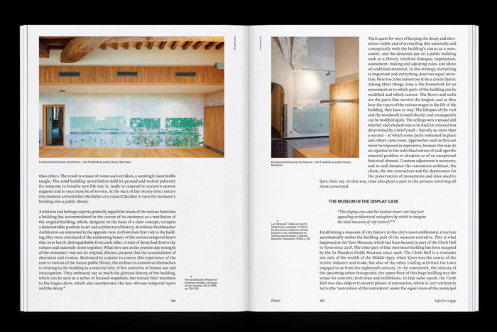 """The Flanders Architectural Review N° 14, """"When Attitudes Take Form"""" 6"""