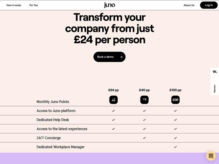 Juno website 6