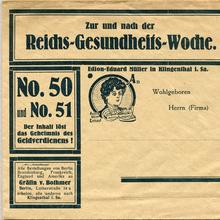 <span>Edion-Eduard Müller</span> advertising letter