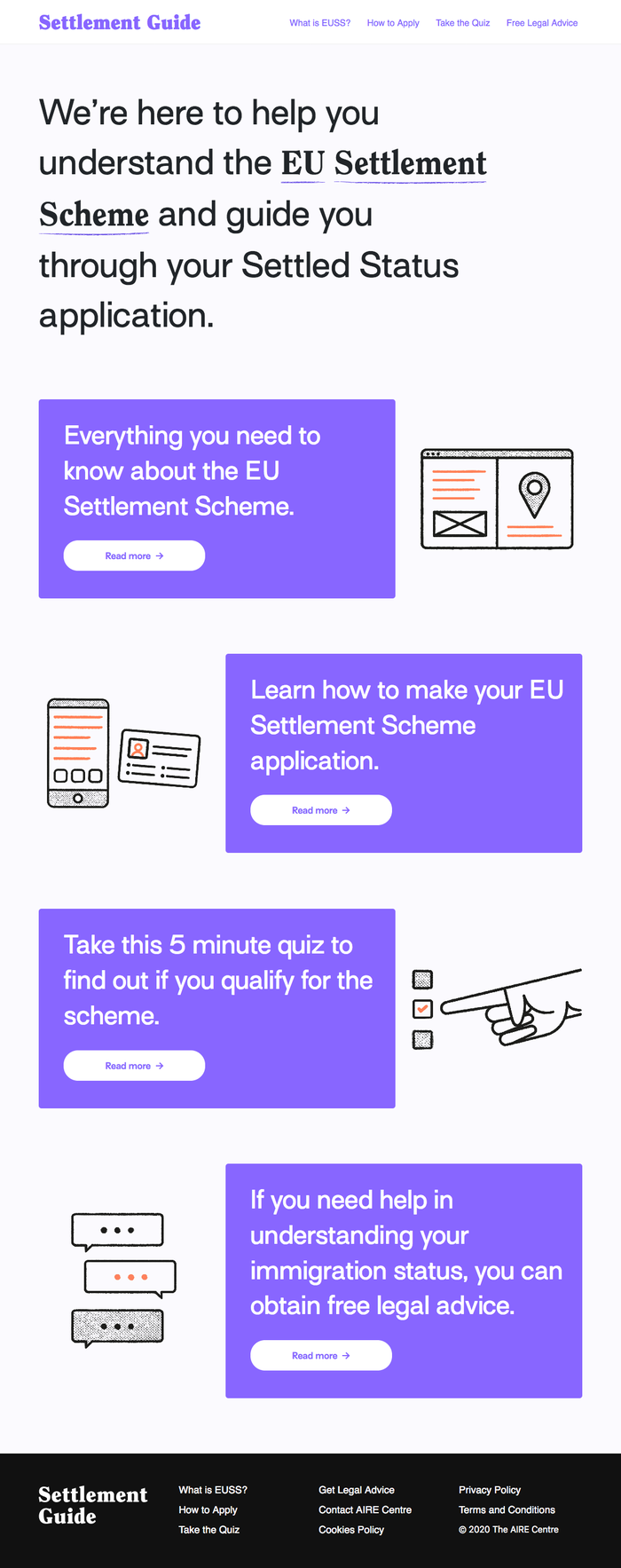 Settlement Scheme Guide for Young People 5