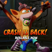 <cite>Crash Bandicoot</cite>