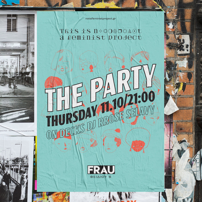 """The Party"" poster by This is not a feminist project 1"
