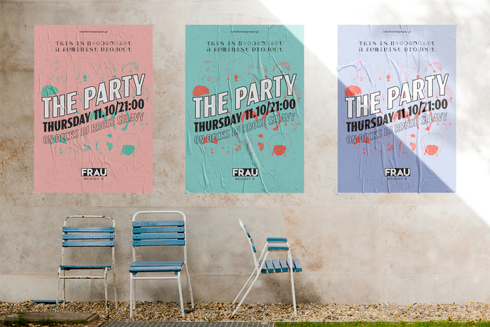 """The Party"" poster by This is not a feminist project 2"