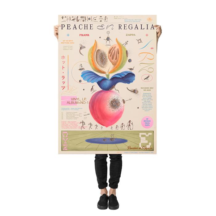 Peaches en Regalia poster 2