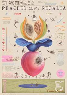 <cite>Peaches en Regalia </cite>poster