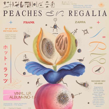 Peaches en Regalia poster