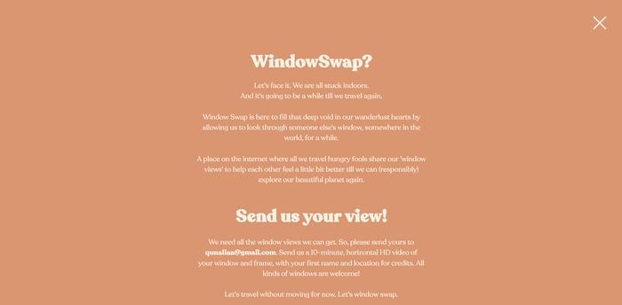 WindowSwap website 6