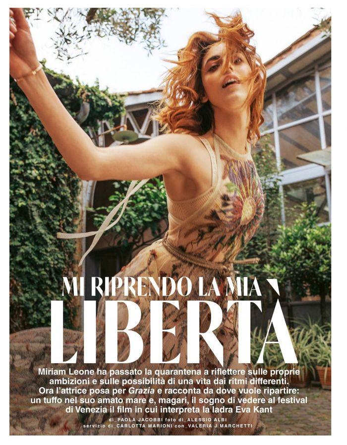 Grazia magazine (Italy), issue 27–28, June 2020 2