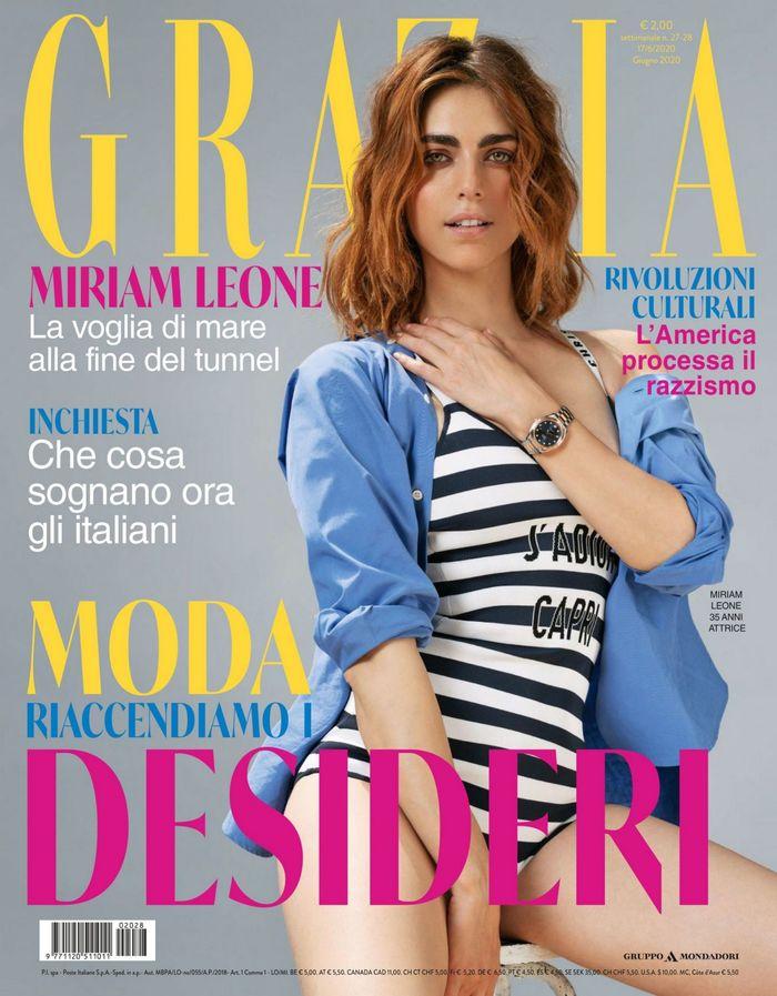 Grazia magazine (Italy), issue 27–28, June 2020 1