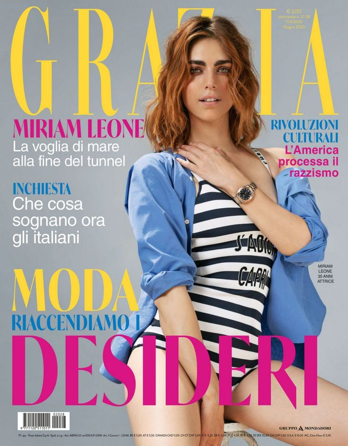 Grazia magazine (Italy), issue 27–28, June 2020 1