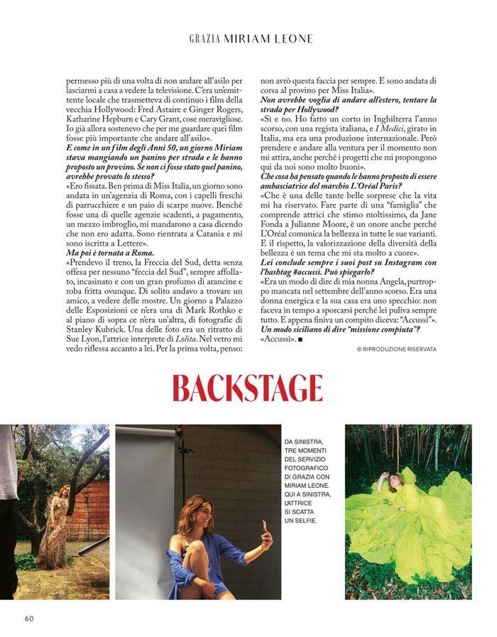 Grazia magazine (Italy), issue 27–28, June 2020 4