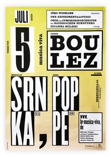 SWR Experimentalstudio concert poster
