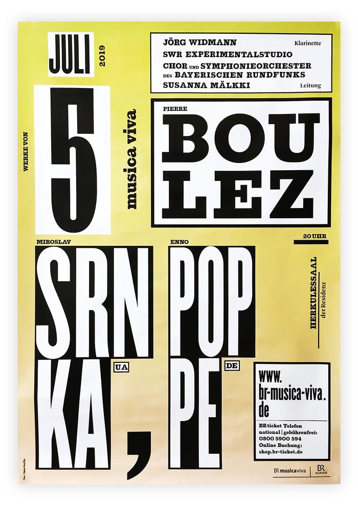 SWR Experimentalstudio concert poster 2