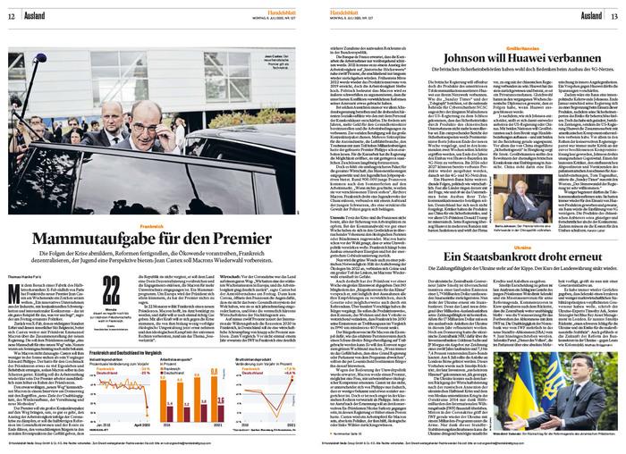 Handelsblatt (2020 redesign) 4