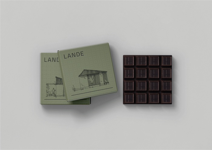 Gift chocolate packaging