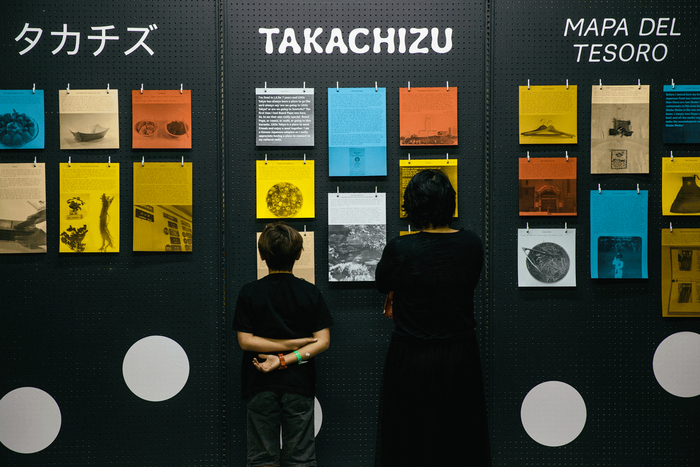 Treasures from the Little Tokyo community were printed on-site using a laser printer and color paper.