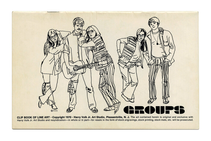 """""""Groups"""" (No. 526) ft.  (1969)."""