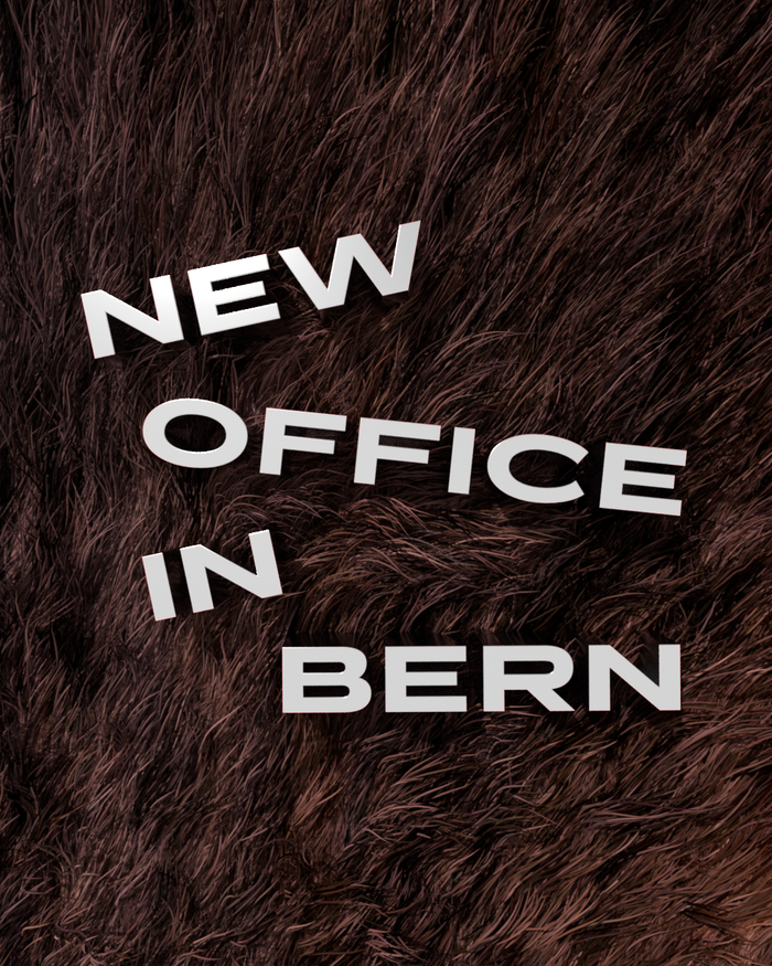 Hørde's new office in Bern 2