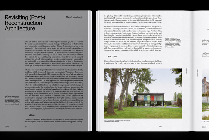 """The Flanders Architectural Review N° 14, """"When Attitudes Take Form"""" 8"""
