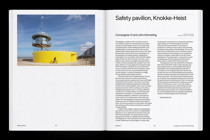 """The Flanders Architectural Review N° 14, """"When Attitudes Take Form"""" 9"""