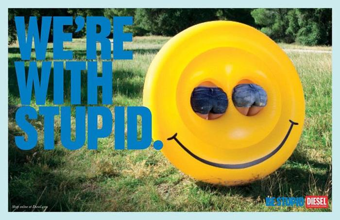 """""""Be Stupid"""" campaign by Diesel 10"""