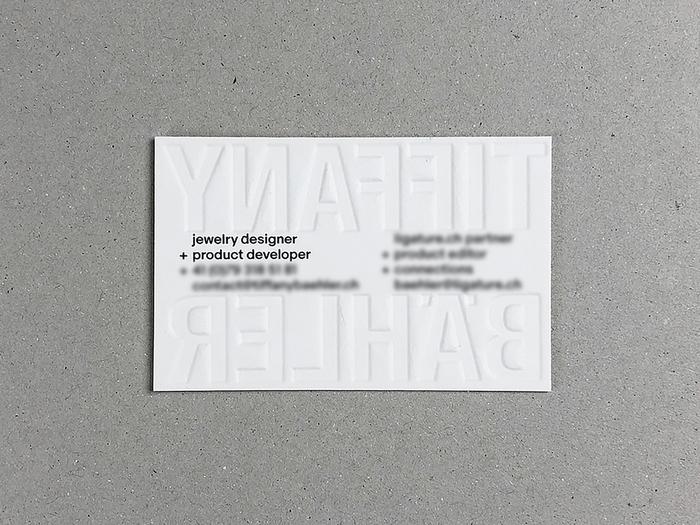 Tiffany Bähler business card 2