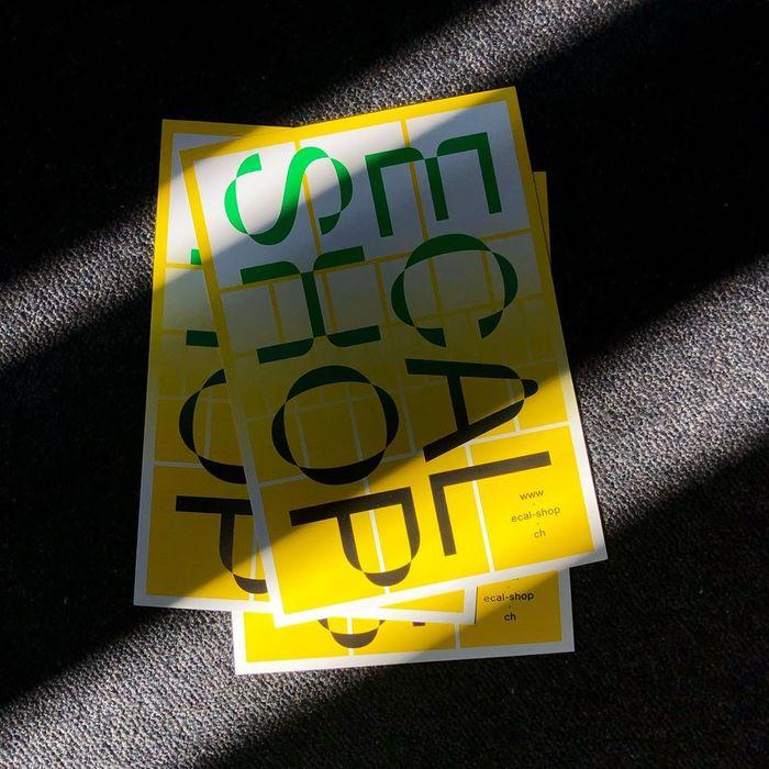 ECAL Shop flyer 1