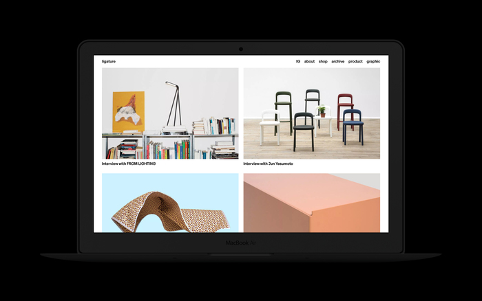 Ligature.ch website (2016–18 version) 2