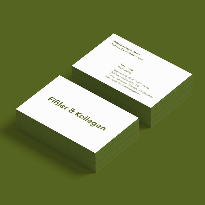 Fißler & Kollegen business cards 1