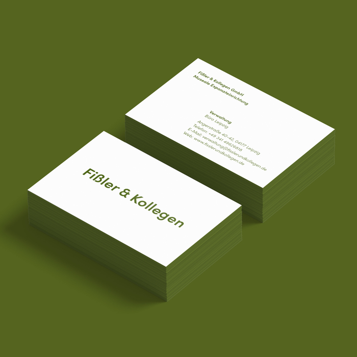 Fißler & Kollegen business cards 1
