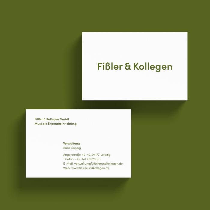 Fißler & Kollegen business cards 2